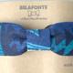 BELAFONTE(ベラフォンテ)_CLIP BOW TIE (Hawaiian)