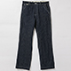 BELAFONTE(ベラフォンテ)_RAGTIME WHITE STITCH DENIM TROUSERS with CINCH BACK