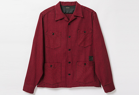 RAGTIME HOUNDSTOOTH HOLLYWOOD LEISURE SHIRTS