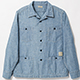 BELAFONTE(ベラフォンテ)_RAGTIME CHAMBRAY HOLLYWOOD LEISURE SHIRTS (AGED)