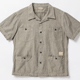 BELAFONTE(ベラフォンテ)_RAGTIME CHAMBRAY HOLLYWOOD LEISURE S/S SHIRTS